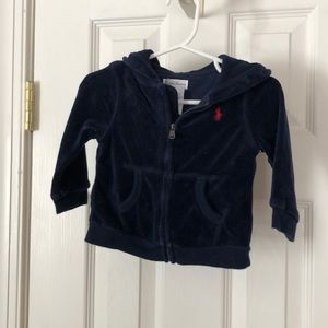 Ralph Lauren EUC velour jogging suit for babies!